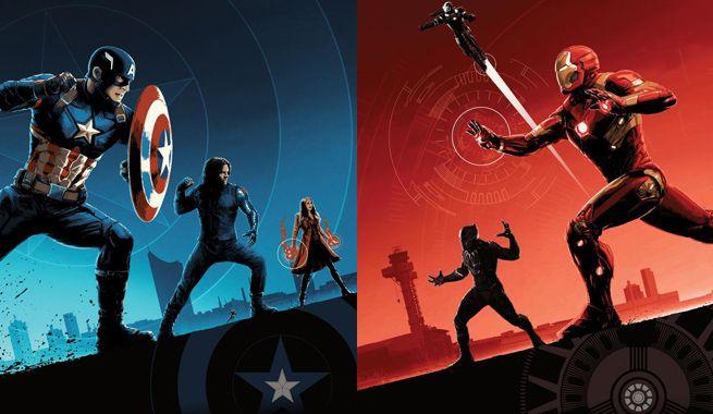 Nuevos pósteres IMAX para 'Capitán América: Civil War'