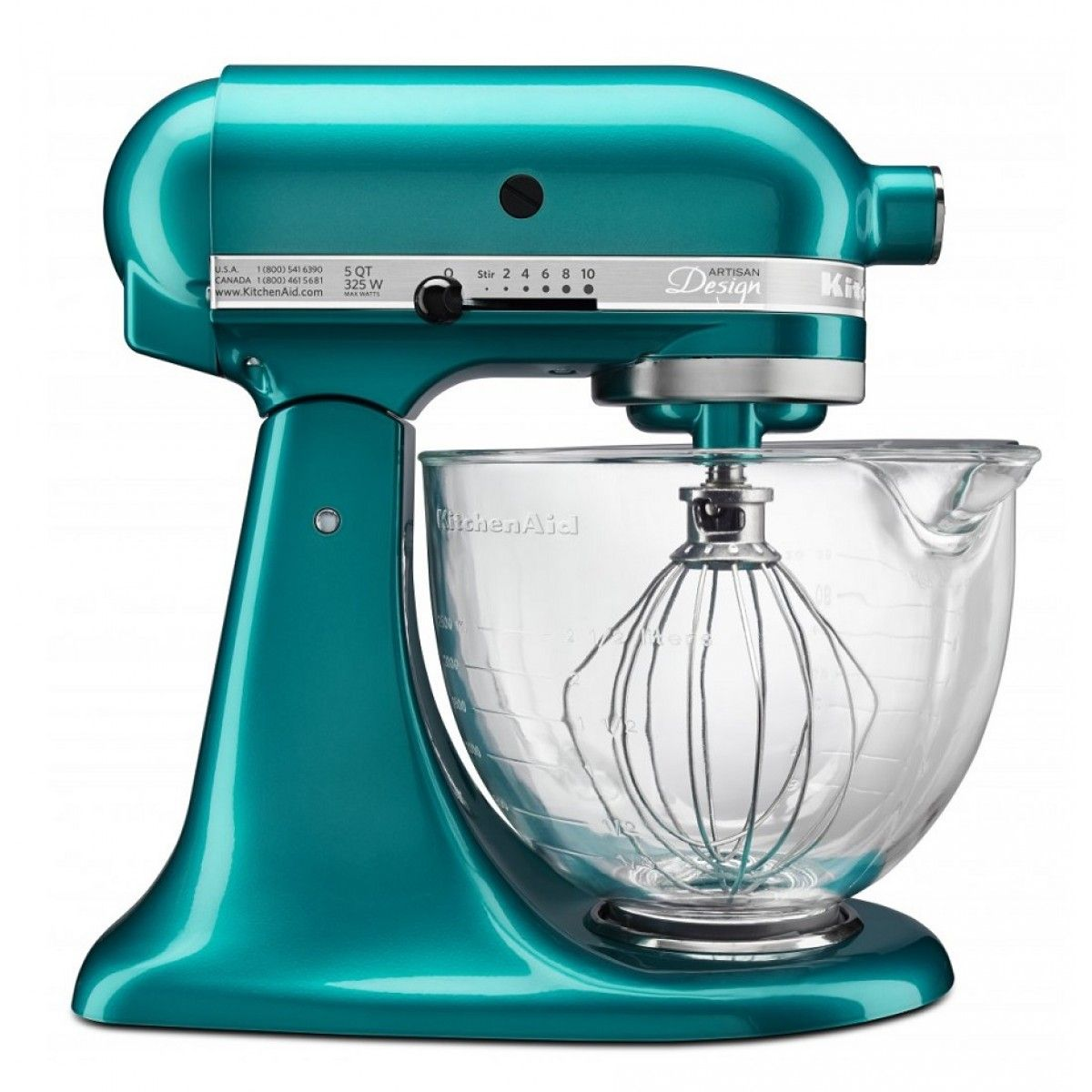 KitchenAid KSM155 Stand Mixer Sea Glass | Frozen Fortress ...