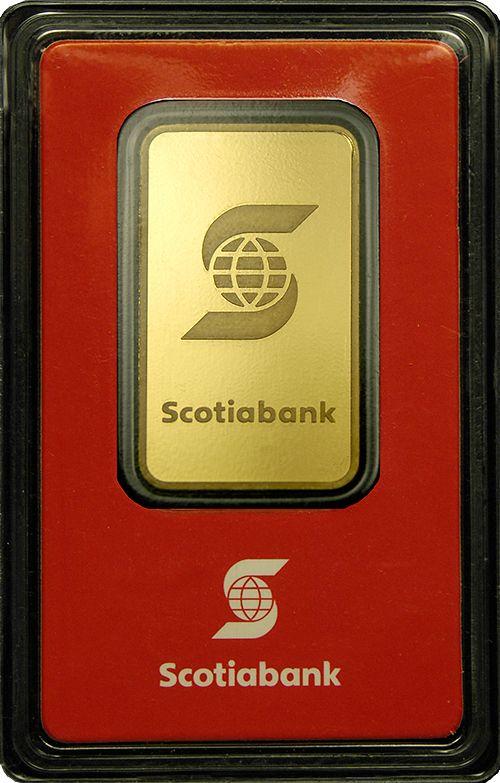 Scotia 1 Oz Gold Bars Gold Bullion Bars Gold Bar Maple Leaf Gold