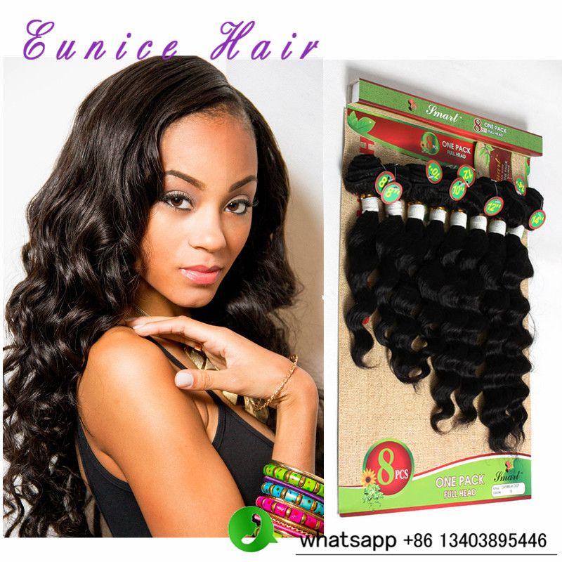 8pcs Lot 8 10 12 14 Inch 100 Human Loose Deep Wave Brazilian Hair Deep Wave Brazilian Hair Brazilian Hair Weave Brazilian Hair