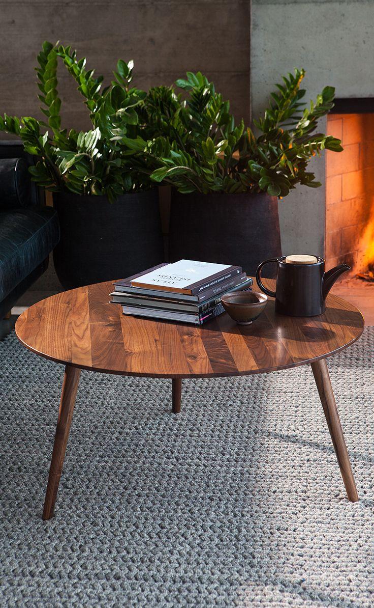 Amoeba Wild Walnut Coffee Table Coffee Table Walnut Coffee