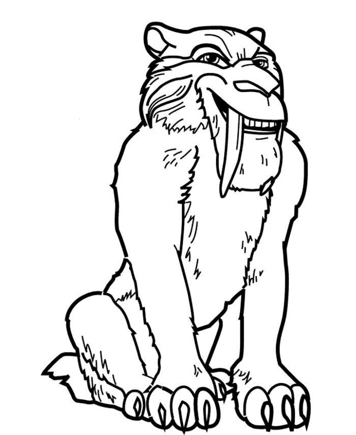 Ice Age Smile Coloring Pages For Kids F03 Printable Ice Age Coloring Pages For Kids Ice Age Coloring Pages Funny Easy Drawings