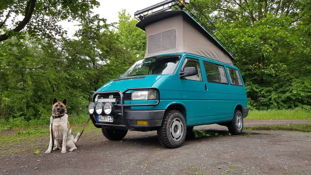 Da Ist Das Ding Vw T4 Syncro Mit Westfalia Aufstelldach Die Arbeit Hat Sich Gelohnt Camper Westfalia Syncro Vw T4 Syncro Vw Eurovan Van Life