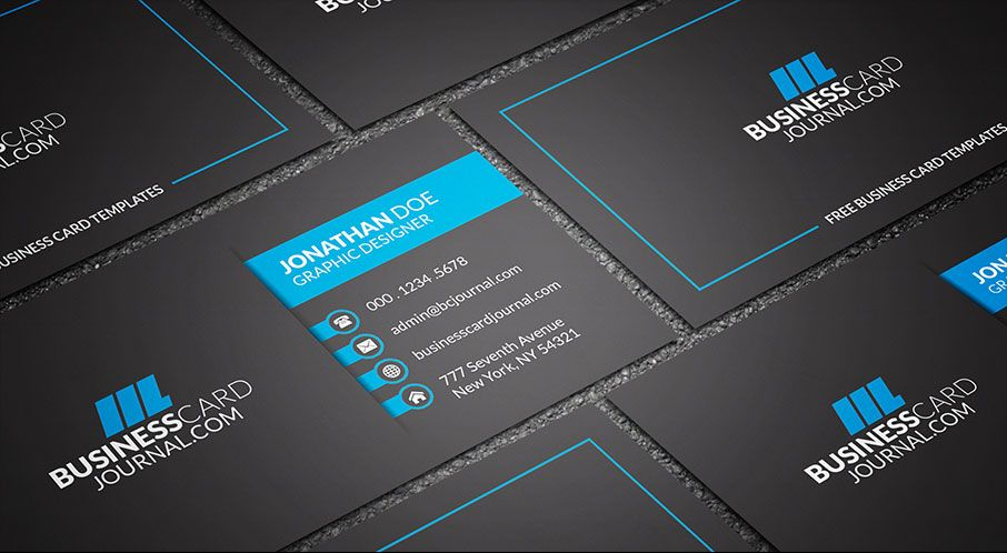 Download Free Business Card Templates Most Availabke In Psd And - It business cards templates