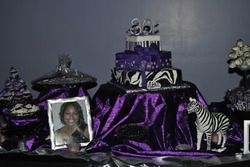 30th birthday Zebra Birthday Living Loving Life at 30 30