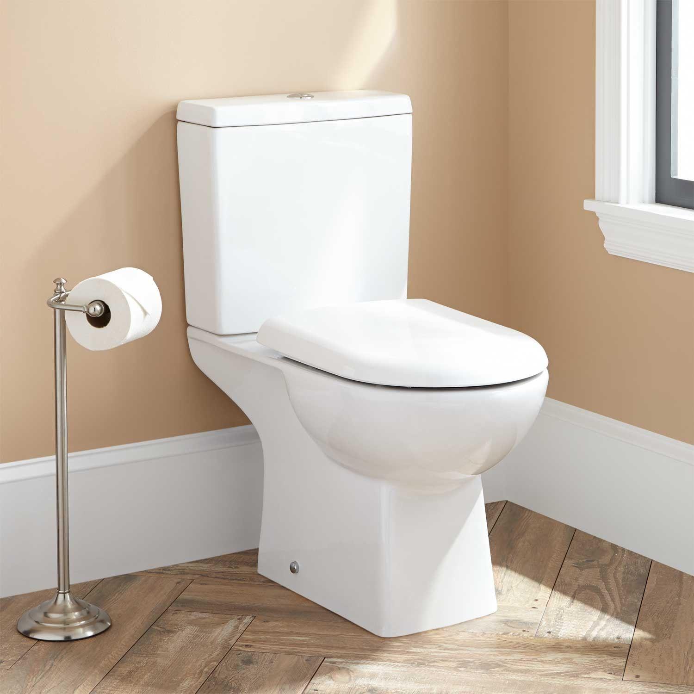 Stapleton II Dual-Flush European REAR OUTLET Toilet - Two Piece ...