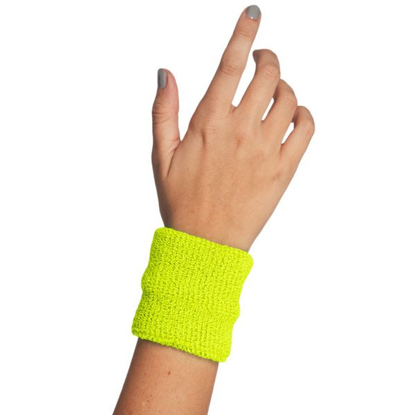 """Unisex Flex Terry Wristband - Flex Terry (75% Cotton/20% Nylon/5% Elastane) construction - Fabric weight 6.5 oz/sq. yard (30 singles) - Dimensions: 3 1/4"""" x 3"""" (8.3cm x 7.6cm) unstretched  - Superior color fastness - Not intended for screen printing - Made in the USA : A retro-classic unisex wristband with excellent sweat-absorbing function. The perfect companion to our Flex Terry Headband. Blank."""