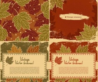 Vintage Fall Backgrounds Vector Fall Background Vintage Fall Design Freebie
