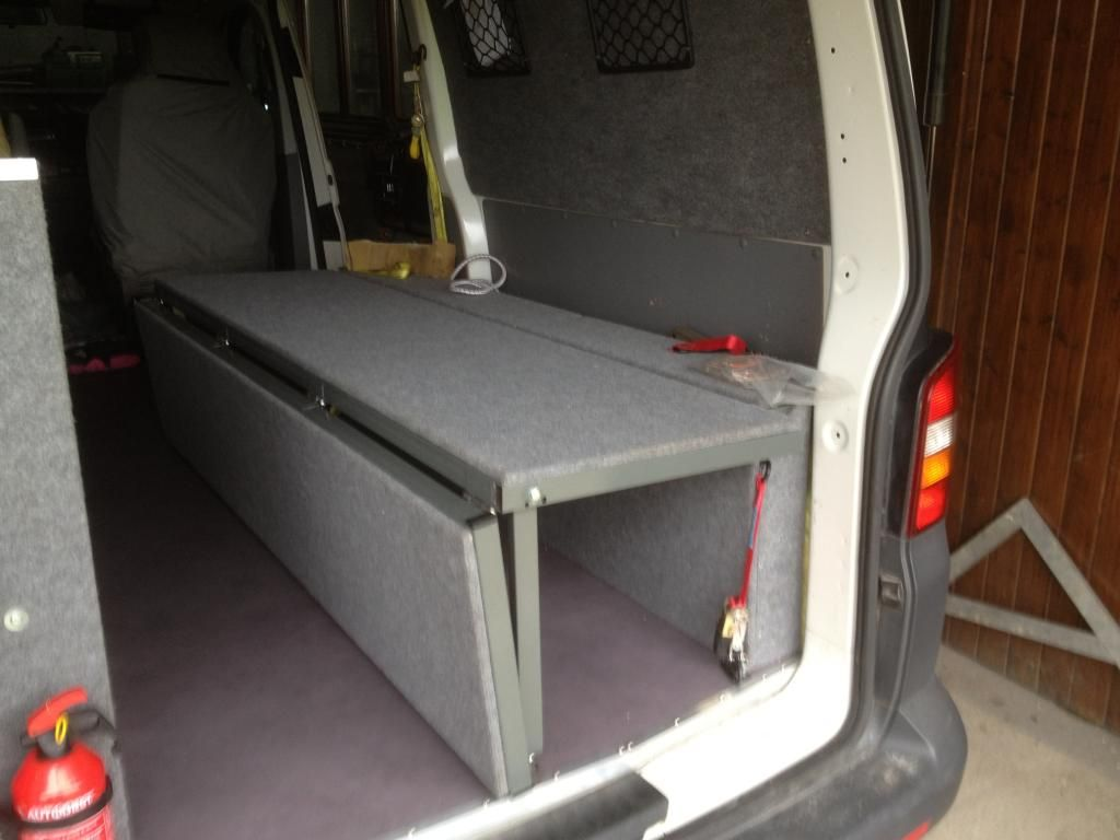 van sofa bed seat loveseat sleeper reviews vw t4 forum t5 camper pinterest