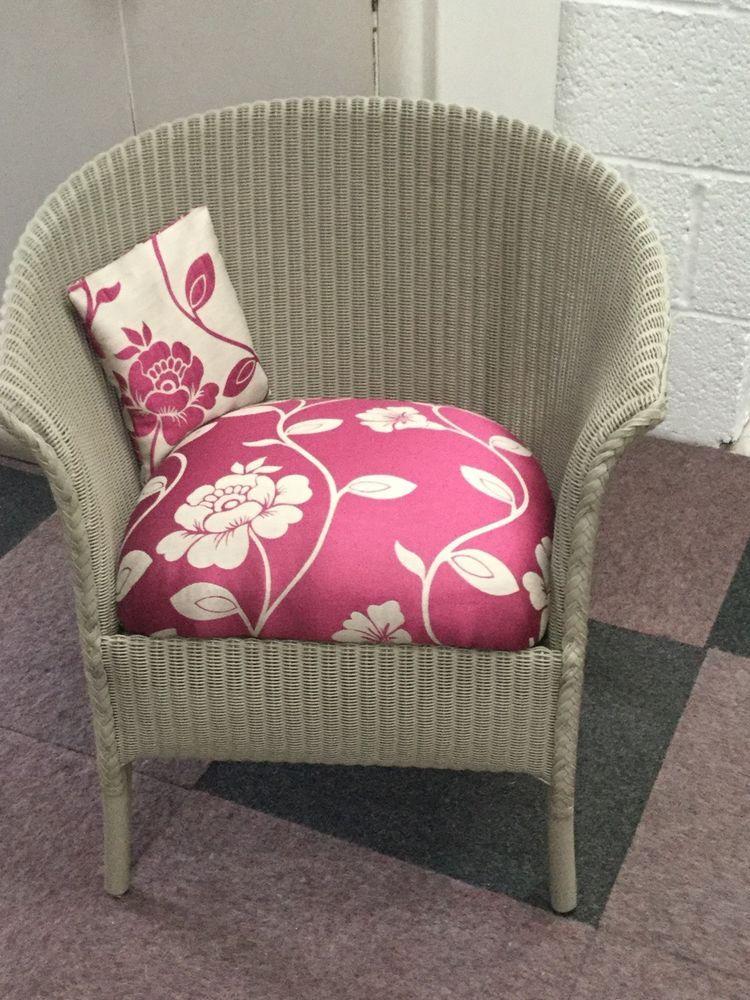 Genuine Vintage Lloyd Loom Chair - Professionally Refurbished And ...