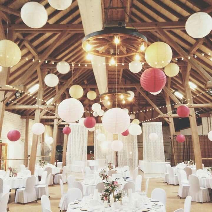 Decke Lamions Als Deko Hochzeit