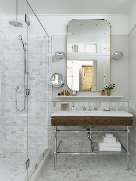 Behold The Beekman Thompson Hotels Upper Stories Blog - Beekman home bathroom accessories for bathroom decor ideas