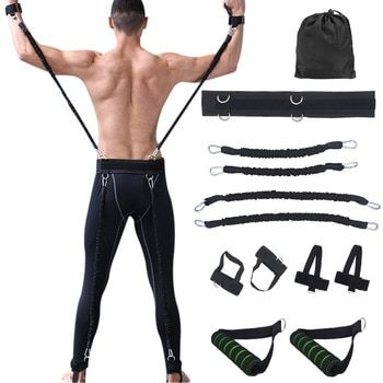 100lbs Fitness Resistance Bands Set for Arms Legs Strength and Agility Workout Equipment Boxing Basketball Jump Force Training #agilityworkouts