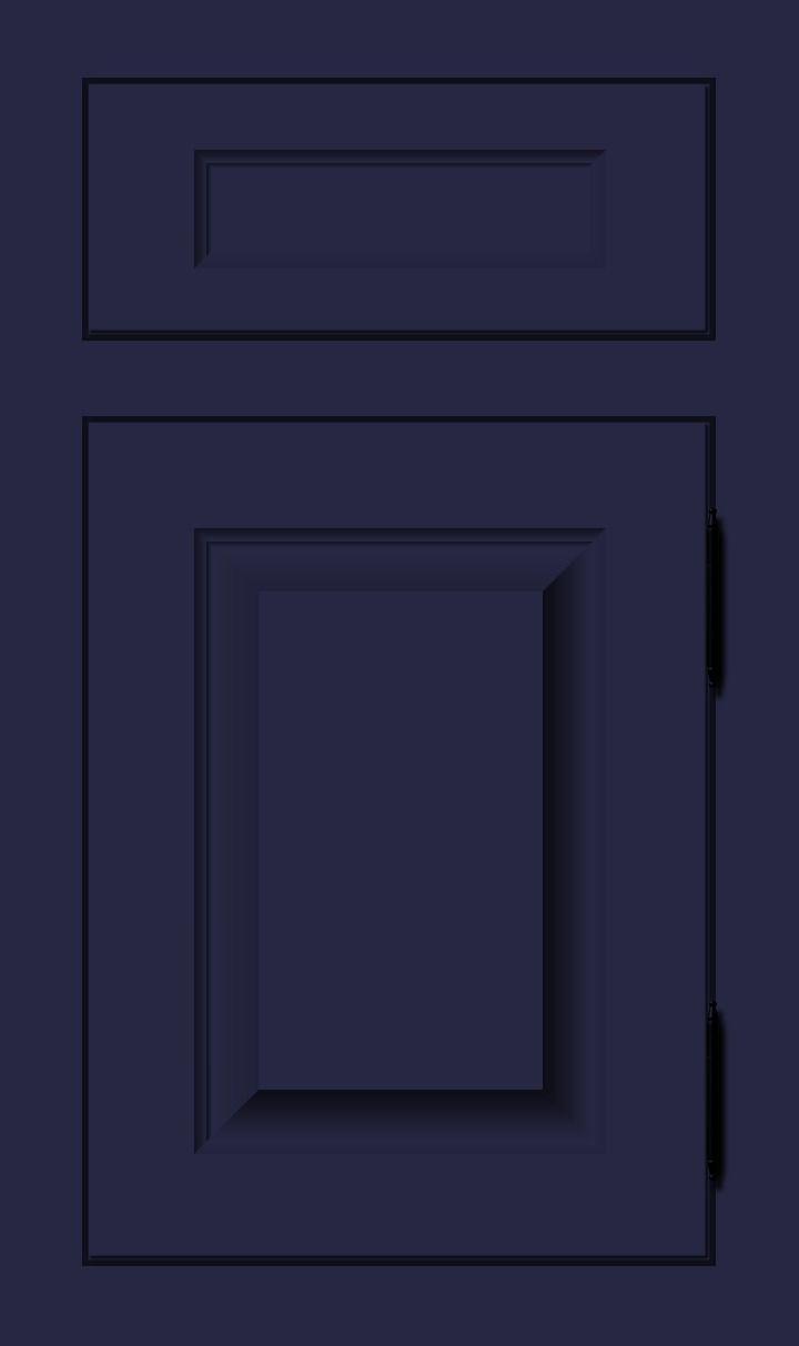 Royal Purple Dark Purple Blue Custom Color Cabinet Door Finish Purple Kitchen Cabinets Purple Cabinets Custom Color