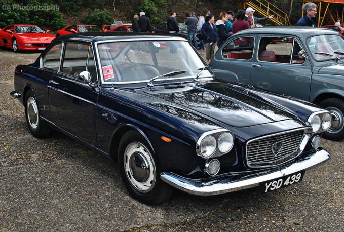 Lancia Flavia Coupe Italian Car Day Brooklands Museum 2013 Or