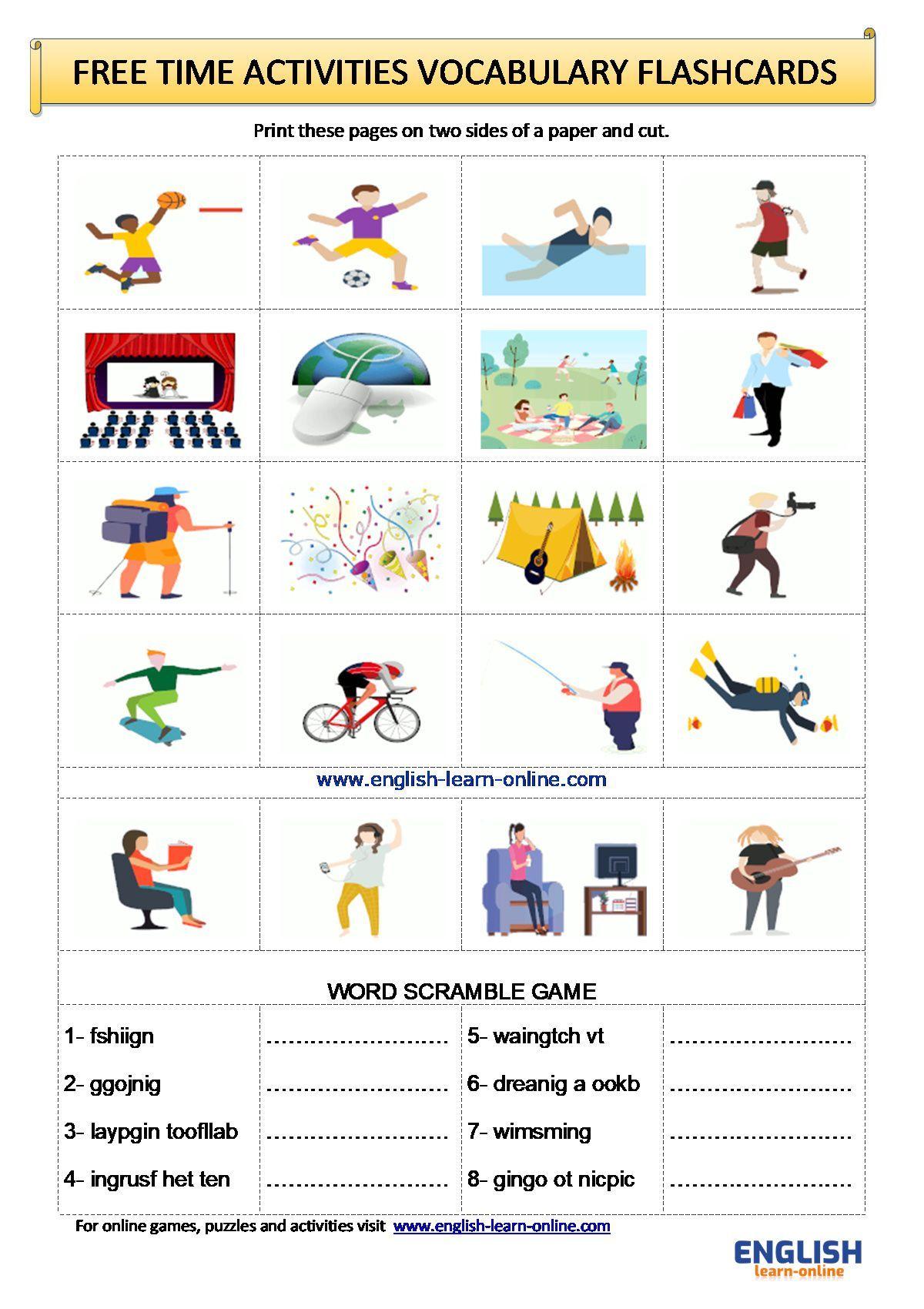 Pin On English Vocabulary Worksheets