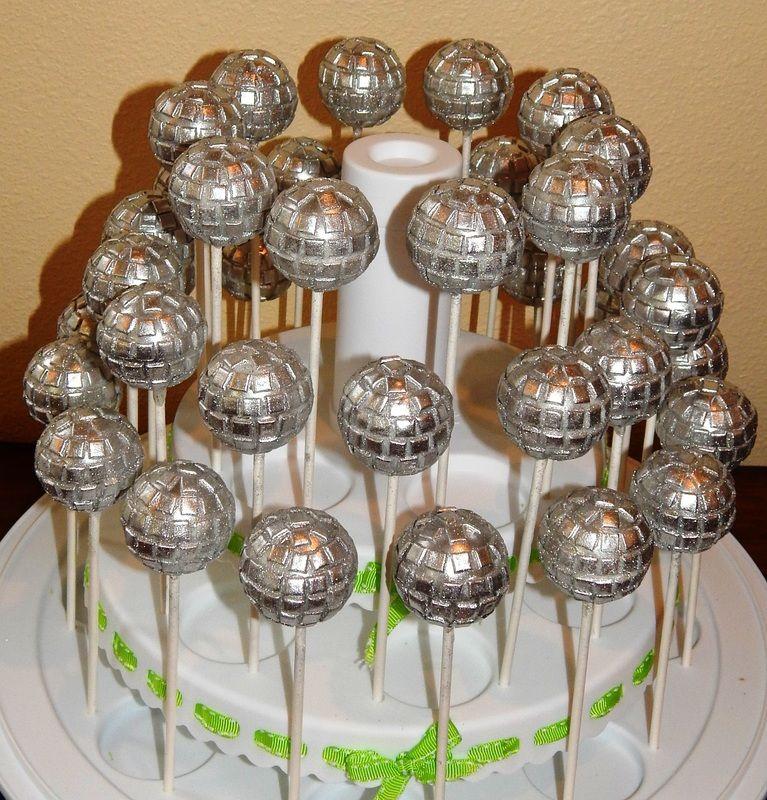 How To Make Disco Ball Cake Pops