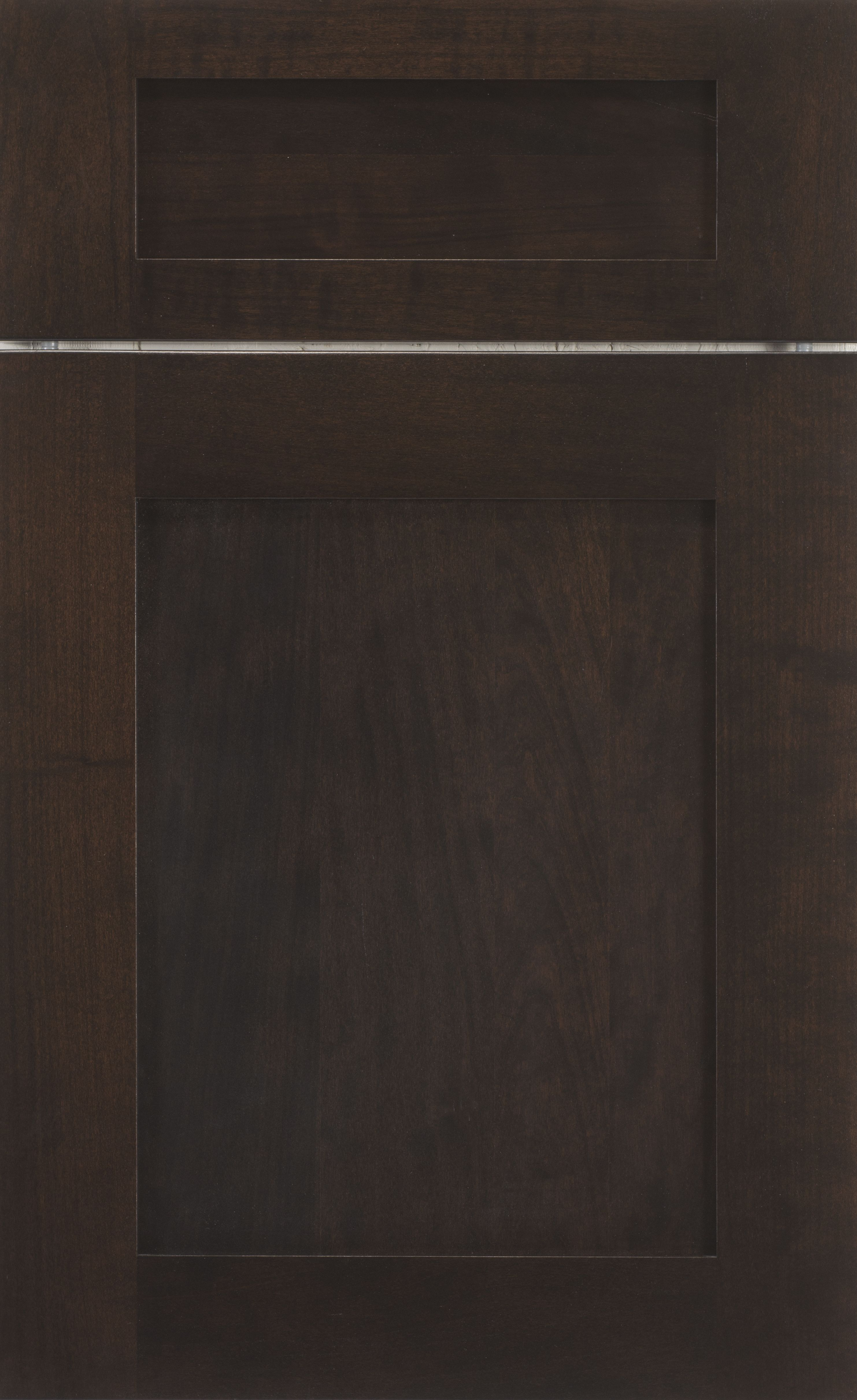 Greenwich Recessed door style by #WoodMode, shown in Java finish ...