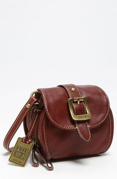 Frye Crossbody Pouch Burnt Red on shopstyle.com