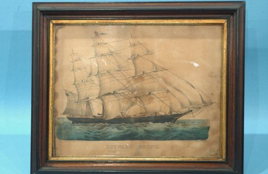 Outward Bound By Currier & Ives
