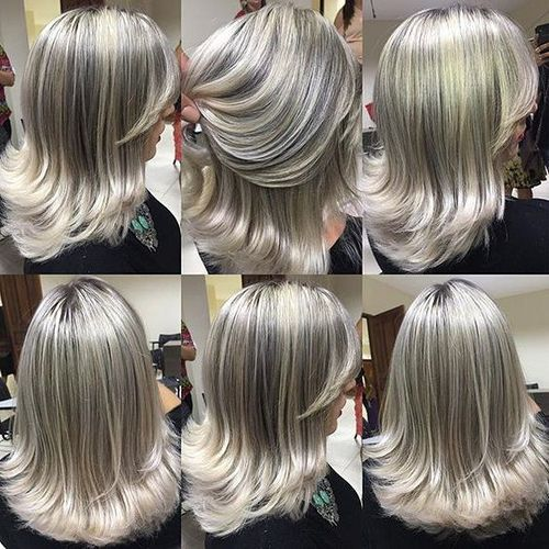 Frosted Flip In 2019 Short Hair Styles Long Hair Styles