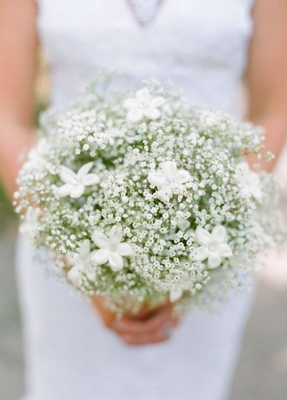8 Reasons Why You Should Really Reevaluate Your Opinion On Baby S Breath Wilkie Winter Wedding Bouquet Babys Breath Wedding Babys Breath Bouquet