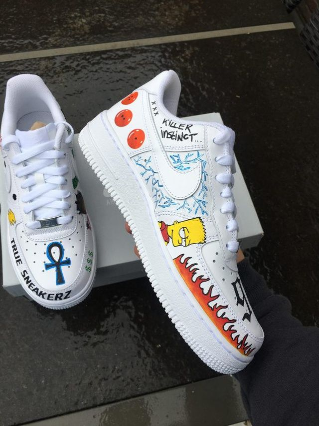 This VLONE x Nike Air Force 1 Low Custom Belongs To A$AP
