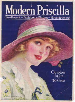 The Modern Priscilla :: Early 20th Century Women