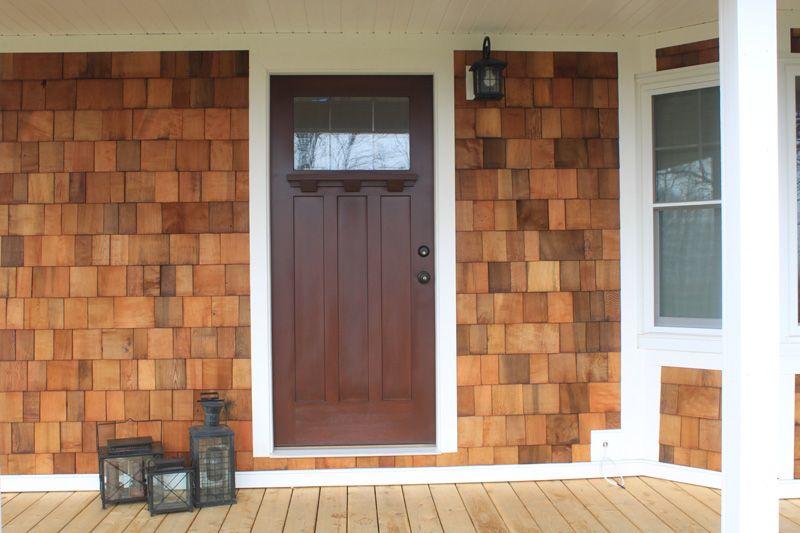 vinyl cedar shake siding Google Search Lake houses