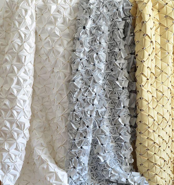 Innovative Fabrics With Textured Tessellating Patterns