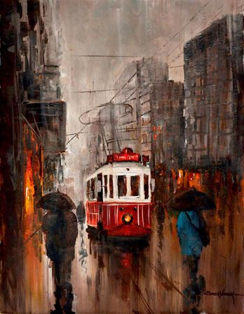 Yagliboya Yagmur Tablolari Google Da Ara Tablolar Istanbul