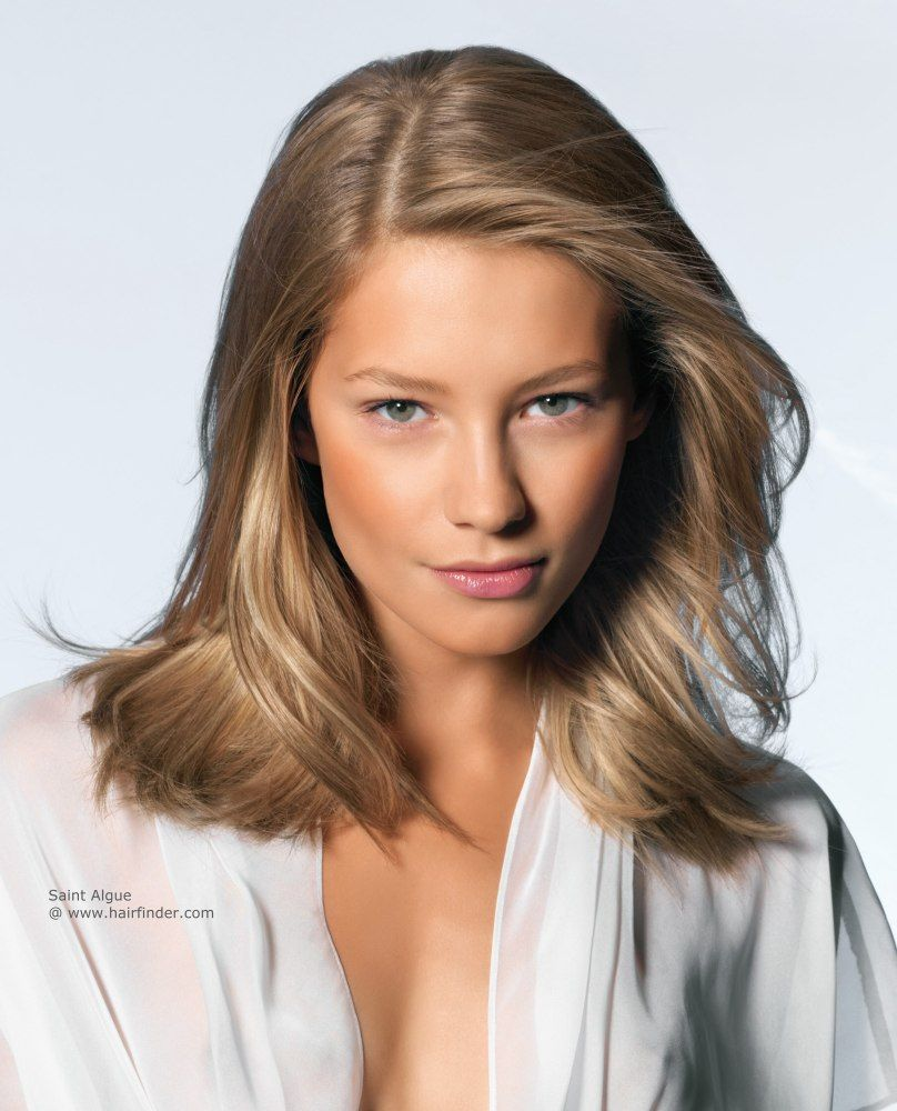 Bronde Hair Blended Blonde Highlights On Dark Blonde Or Light Brown