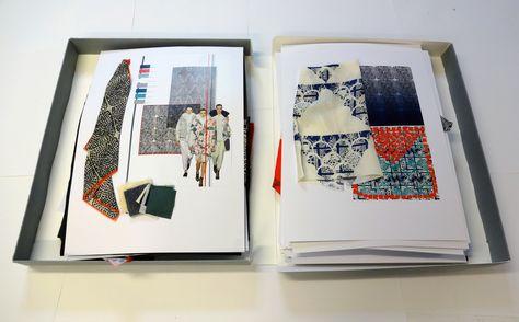 Fashion Portfolio Ideas Central Saint Martins Interview Textile Design Portfolio