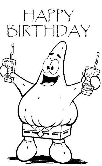 Happy Birthday Patrick
