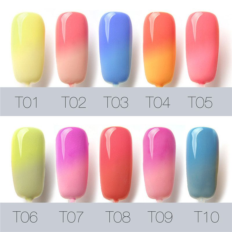 7ml Temperature Color Change Uv Gel Polish Nail Art Varnish 30