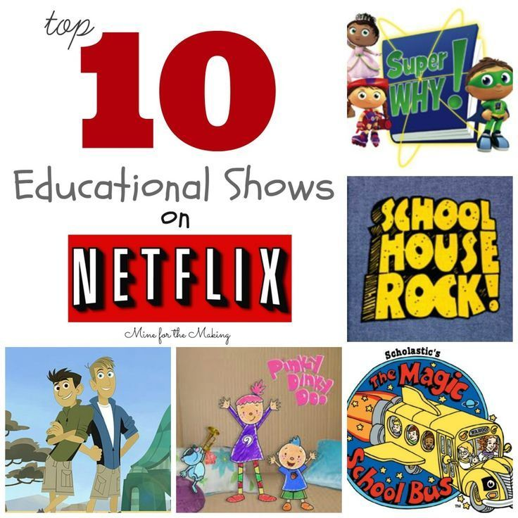 Photo of Tot School Tuesday: Top 10 Educational Shows on Netflix – Mine for the Making