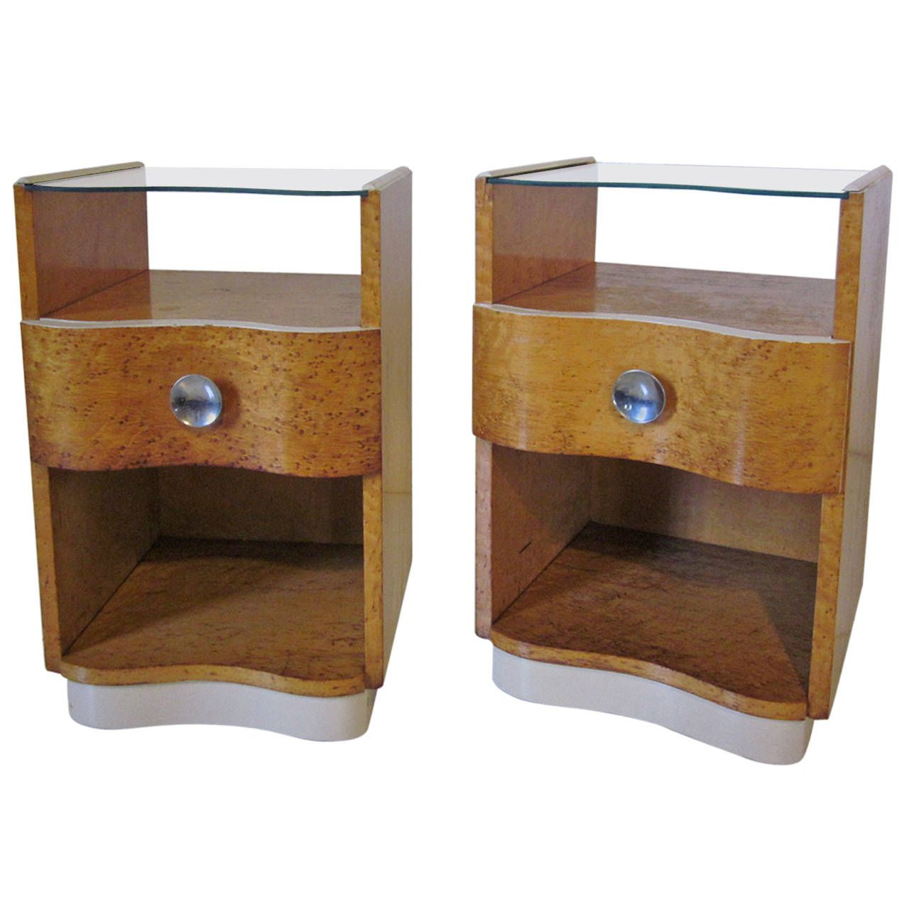 Art deco nightstands night stand nightstands and art deco