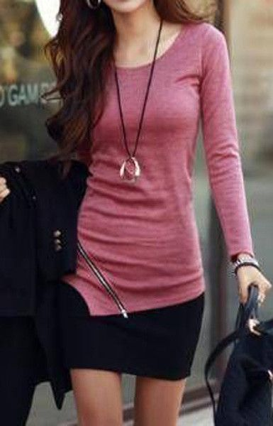 O-Neck Long Sleeve Zipper Sweater (More Colors Available)