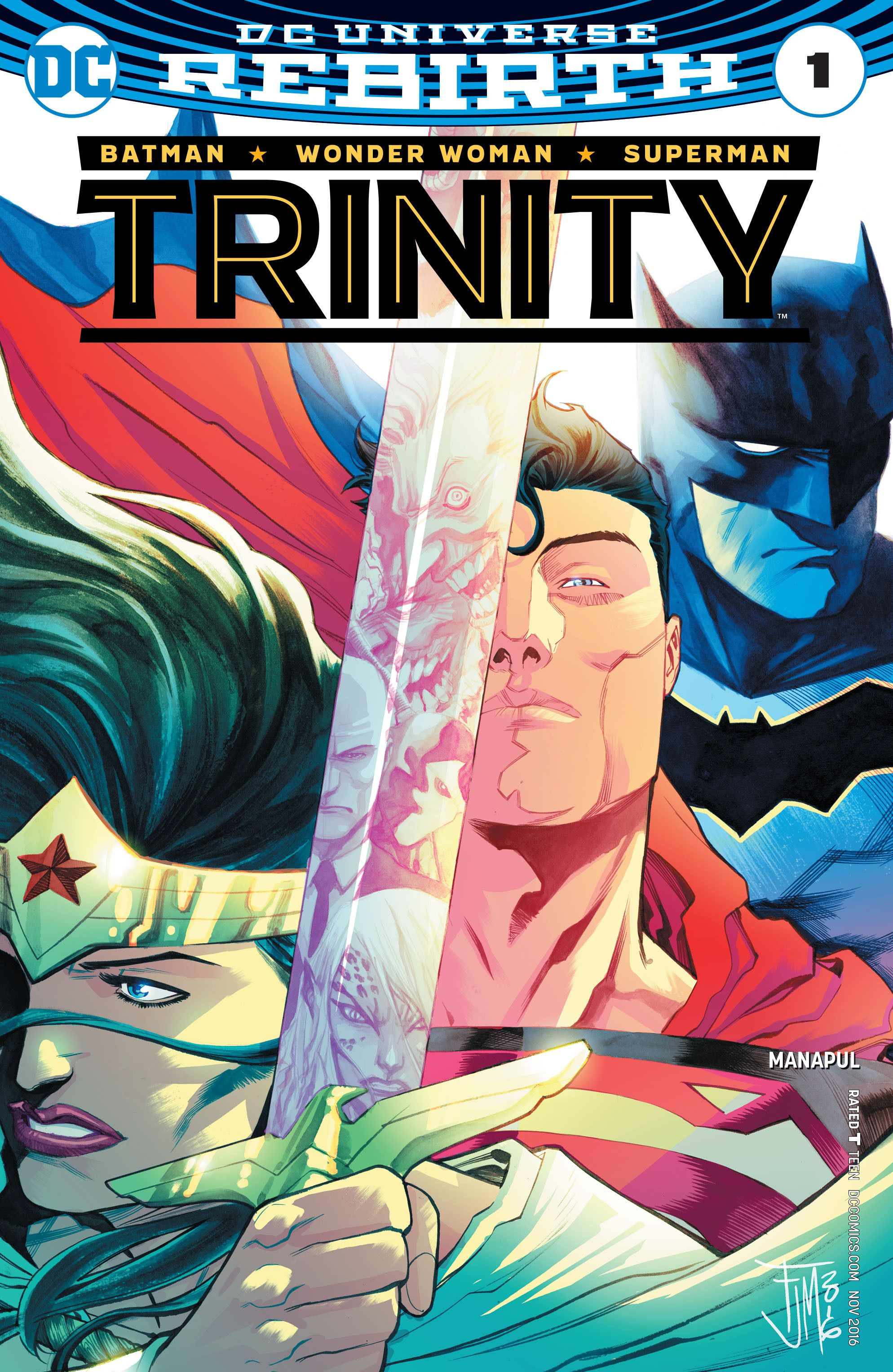 Trinity 1 | DC Comics | Pinterest