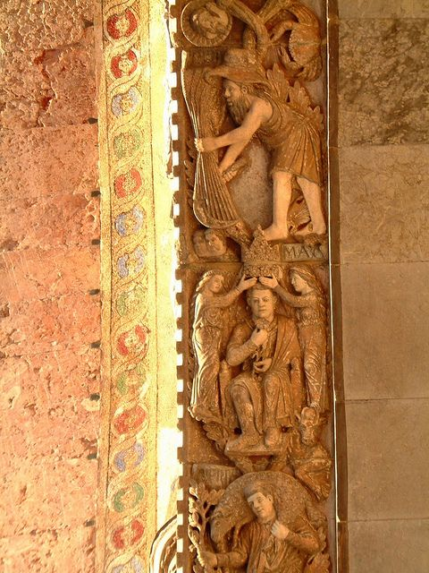 Labours of the Months on St Mark's Basilica, Venice