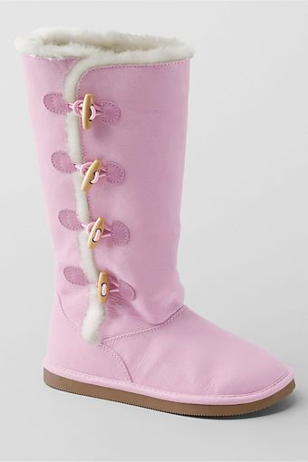 Lillian Toggle Boots From Lands End For My Love Of All Things Pink Rosa Stiefel Schuhe Frauen Schuhe Damen