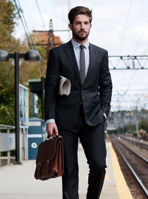 d76e78d7 Office look, complete! #LK | fashion | Black suit men, Interview ...