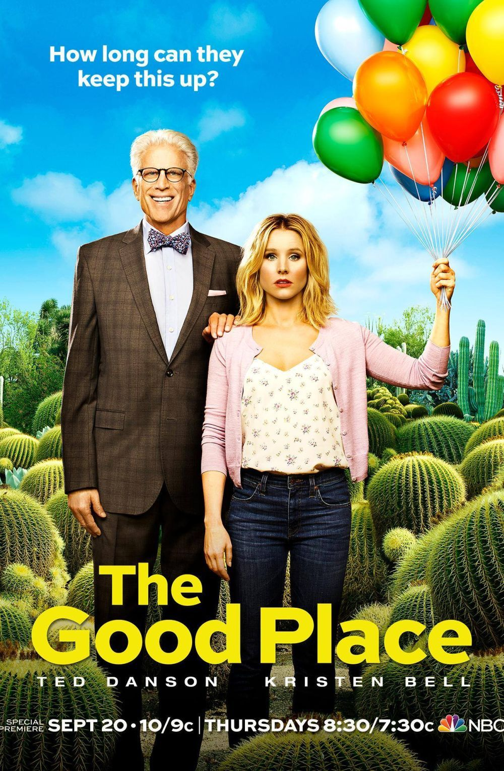 The Good Place - American fantasy comedy television series (3 ...