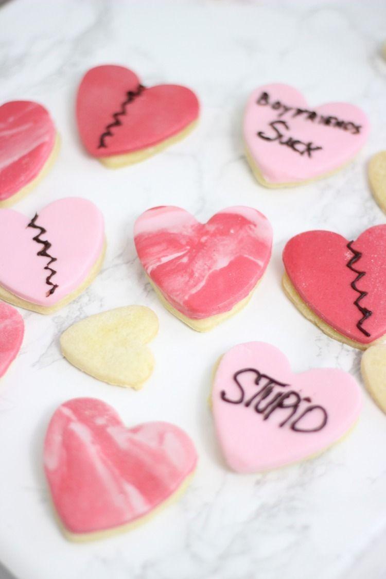 Anti Valentinstag Kekse Food Essen Rezepte Zum Ausprobieren