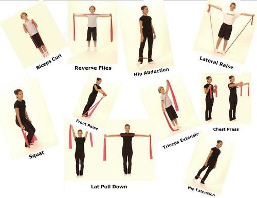 6cfe35f63604a6 Być idealną - lifestylowy blog o aktywności fizycznej i zdrowym trybie  życia: 19.11 - trening z Thera band