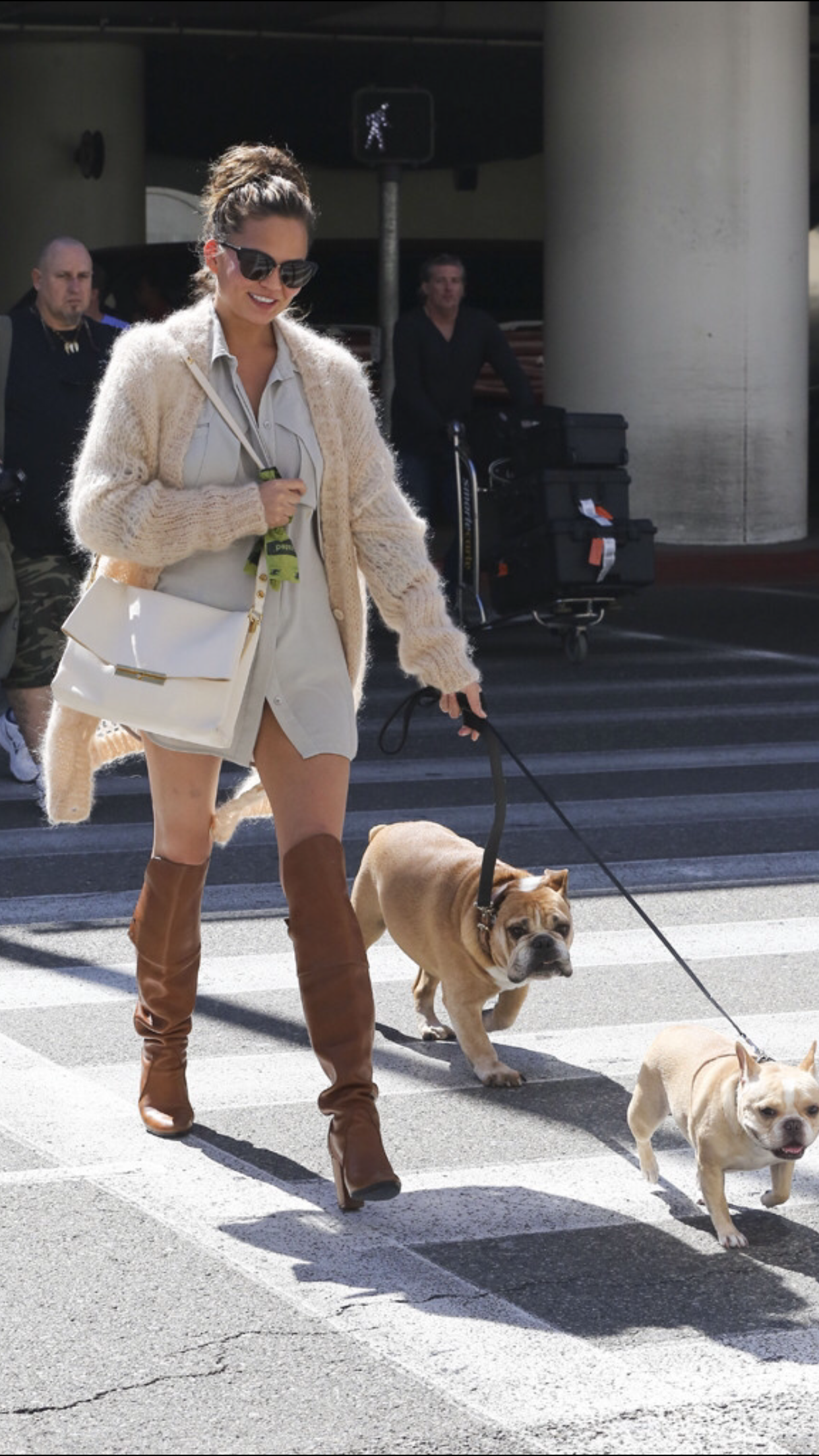 Watch Chrissy Teigens Guide To Walking Your Dog In Style video