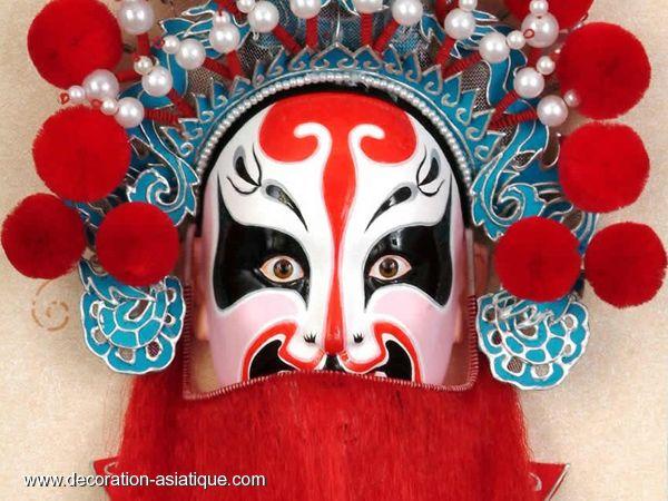 lacer dans 100% de haute qualité publier des informations sur masque-chinois-opera | Décorations chinoises, Décoration asiatique ...
