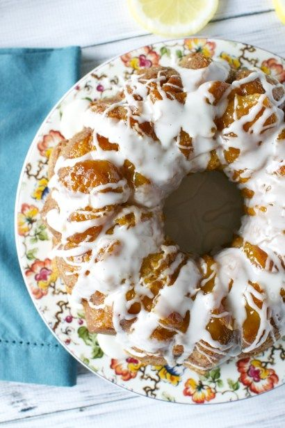 You will love this Spring recipe for Lemon Monkey Bread! It's perfect for Easter and is easy to make. Simply take biscuit dough and cover with lemon sugar and butter, then bake until golden brown, and lastly top with a very simple lemon glaze. So so good! So it's finally that time of the year …
