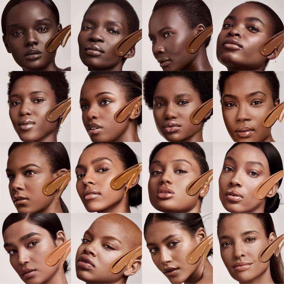 Shades of Fenty Rihanna's Foundation range Beauty