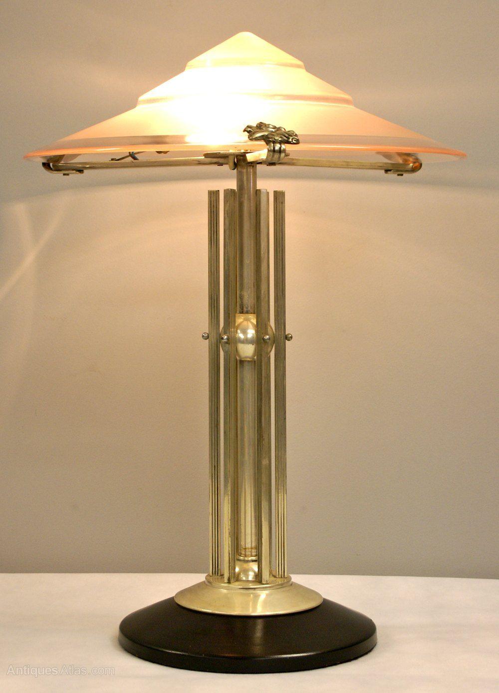 Art Déco Tischlampen Diese Lampe Ist Nicht Billig Aber Sie
